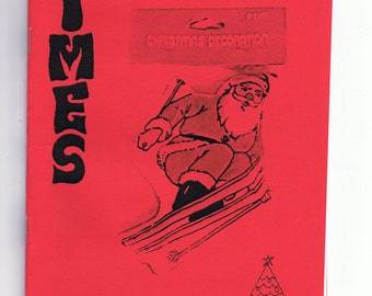 Thrifty Times 3 - The Holiday & Christmas Issue - A Zine about Thrifting