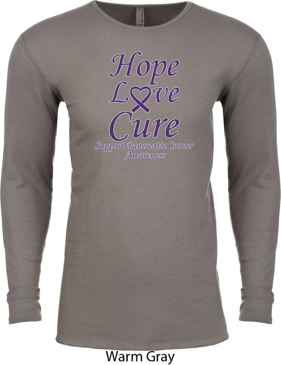 Men's Hope Love Cure Support Pancreatic Cancer Awareness Burnout Tee T-Shirt HLC-SPCA-NL6110 MfiCYMA