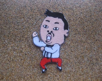 GANGNAMSTYLE PSY PATCH badge