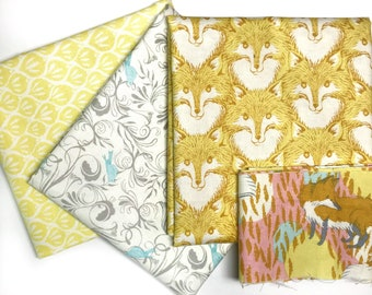 Timber and Leaf by Sarah Watts for Blend 3 Piece Bundle