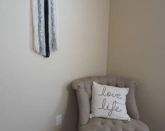 Modern Yarn Wall Hanging - Boho Decor - Wall Hanging - Wall Art