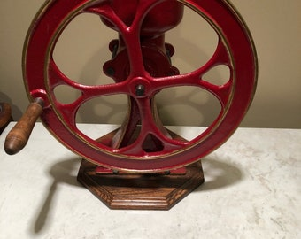 Antique Cast iron 1 1/2 coffee- grain grinder