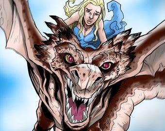The Dragon Queen - Digital File