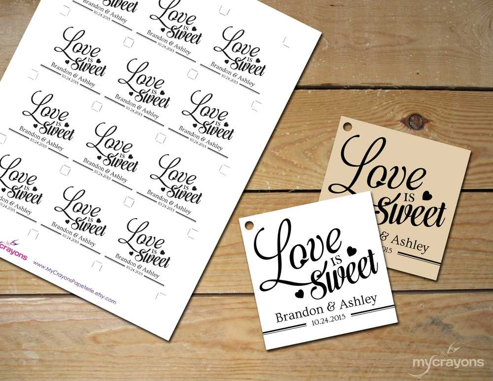 It is a photo of Gratifying Printable Wedding Favor Tags