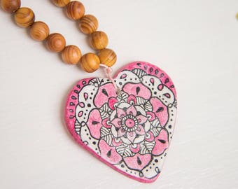 Mandala Heart - LOVE