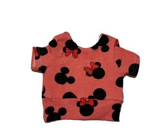 Disney crop top. Minnie mouse Crop top. Ariel crop top. Beauty and the beast crop top. Summer crop top. Girls crop top. Baby crop top.