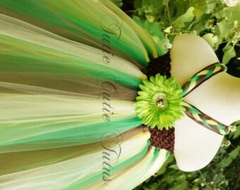 Woodland Fairy Inspired Tutu Dress