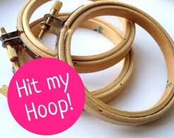Hit up your hoop!