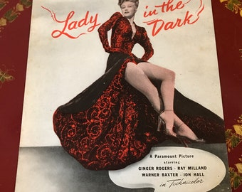 Suddenly It's Spring Sheet Music 1947