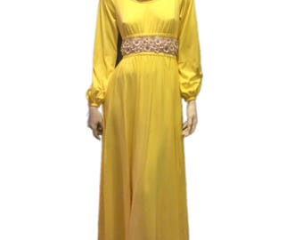 Victoria Royal Ltd. Floor Length Gown