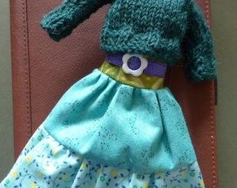 Blythe Boho Outfit - Markeaton Park - Skirt And Sweater