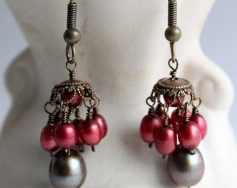 Fresh Water Pearl Earrings# 121