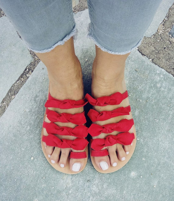 leather sandals sandals suede sandals sandals bow gXCxgrq6w