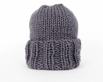 Men's beanie, men's hat, winter hat, hand knit beanie, knit hat, handmade hat