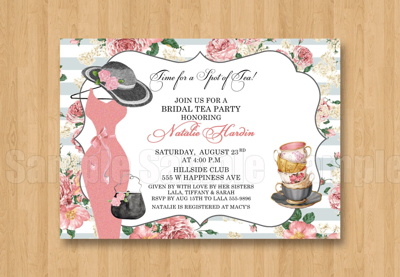 Spot of tea fancy hat dress birthday bridal shower zoom stopboris Image collections