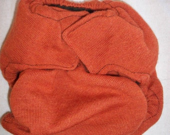 Set of 2 Custom MamaBear One Size Wool Diaper Covers Wraps - Pin or Snappi Closure