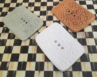 Handmade Ceramic Soap Dish