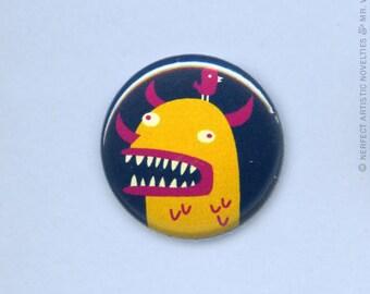 """Beast Friends 1"""" Pin-Back Button"""
