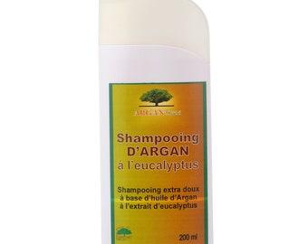 Argan & Eucalyptus shampoo