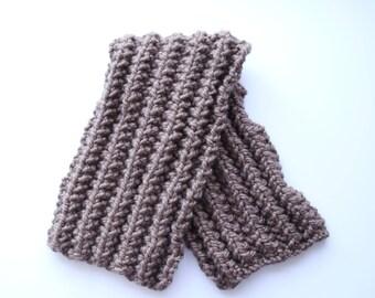 Men's neck warmer, wool neck warmer, men cowl scarf, chunky cowl, wool neck warmer, bulky knit cowl, bulky beige scarf, gifts for men