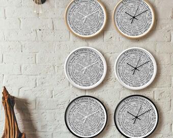 Pi clock - white