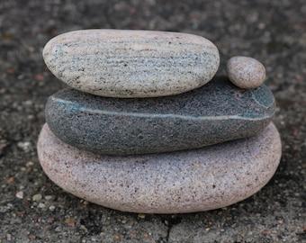 Zen Balance Sculpture - Meditation Altar Stones - Stress Relief Gift - Mindfulness Art
