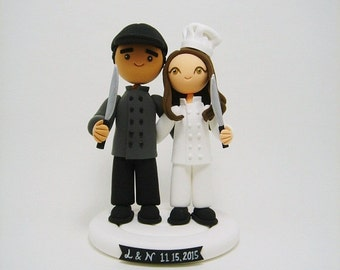 Chef cake topper   Etsy