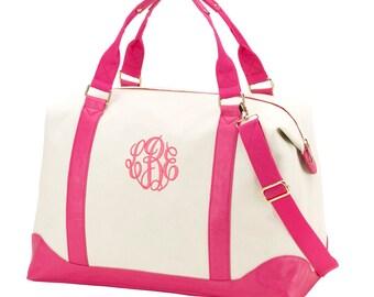 Mongrammed  Weekender Bag, Personalized Extra Large Weekender Bag, Travel Bag, Luggage Bag, Carry On Travel Bag, Personalized Duffle,