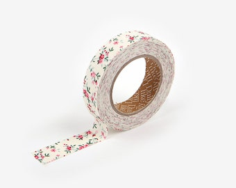 On Sale)) Adhesive Fabric Tape : First Love Flower - Dailylike Canada