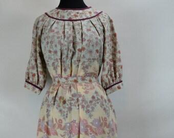 1970s Jonathan Logan Floral Miu Miu Dress, Miu Miu Dress, 1970s Dress, Jonathan Logan Dress, 70 Dress, Floral Dress, 1970s Day Dress, Dress