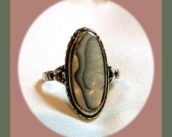 Abalone Ring VJB0015