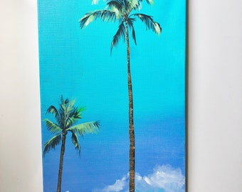Palm Tree Series canvas painting #2