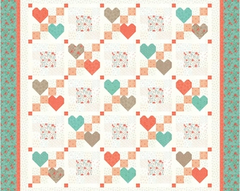 Heart to Heart 2 PDF Quilt Pattern