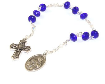 Saint Anne Niner Chaplet, Patron Saint of Mothers, Homemakers & Equestrians