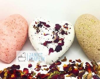 Valentine's Day Bath Bomb Trio