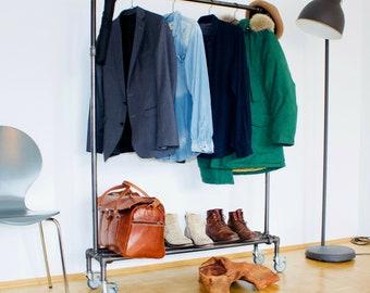 Levi-Coat rack in industrial design