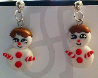 Snowmen earrings like candy?