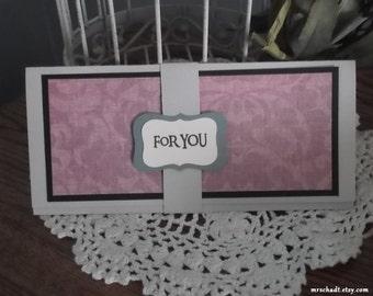 Money Holder Card -  Birthday, Wedding, Graduation