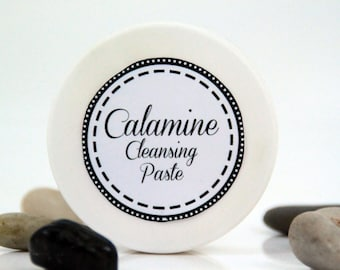 Calamine cleansing paste