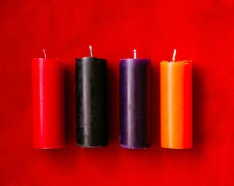 Soy candles for sex play