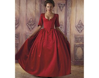 Simplicity  Sewing Pattern 8411 1800's Gown Dress-Costume Dress Size 14-22