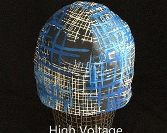 "Helmet Liner/Running Cap/Ski Cap - ""High Voltage"""