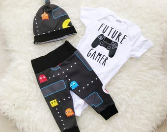 Future Gamer, Player 3 Has Entered The Game, Future Ganer Onesie, Newborn Boy Coming Home Outfit, Coming Home Outfit Baby Boy
