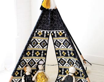 PDF PATTERN--The Playhouse Teepee