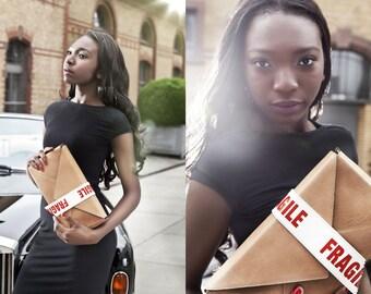 Lederhandtasche Parcelbag S