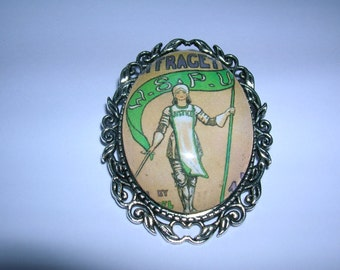 suffragette women's rights brooch