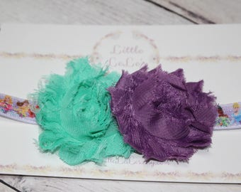 Disney Princess Shabby Flower Headband