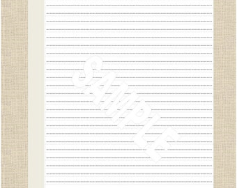 Life's Lists Printable A5 Note Paper