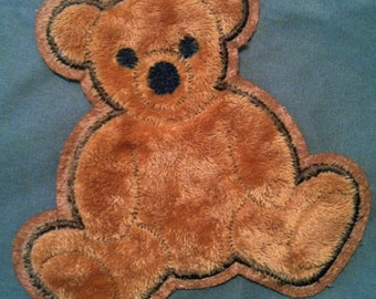 Kaylee BEAR Patch - PRE-DYED and distressed! Perfect for Cosplay!
