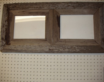 Rustic Barnwood 8  1/2 X 11( 2 Place) Collage, Rustic barnwood, all KAGAC frames  come with glass , backing and hangers.